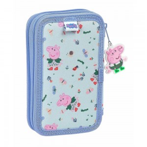 PLUMIER DOBLE PEPPA PIG...
